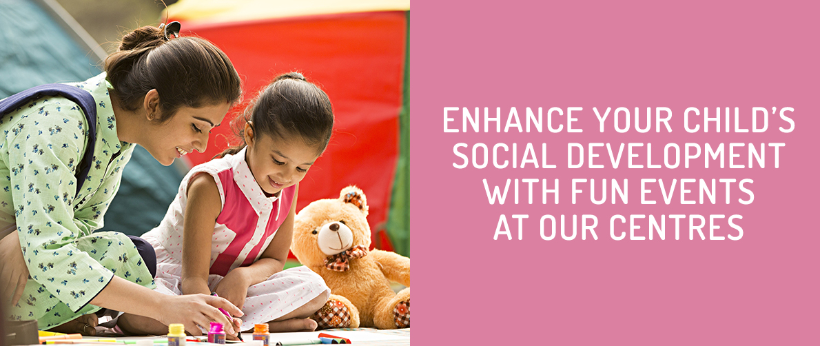Child's Social Developement with Fun Events